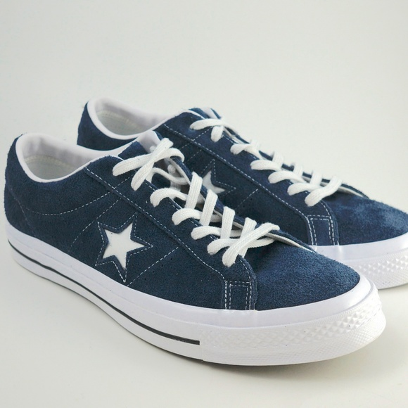0c7e48b167d New Converse One Star OX Suede Blue Mens sz 11.5